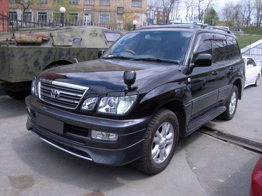 2004 toyota land cruiser cygnus pictures gasoline. Black Bedroom Furniture Sets. Home Design Ideas