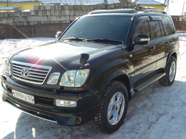 2005 toyota land cruiser cygnus pics 4 7 gasoline automatic for sale. Black Bedroom Furniture Sets. Home Design Ideas