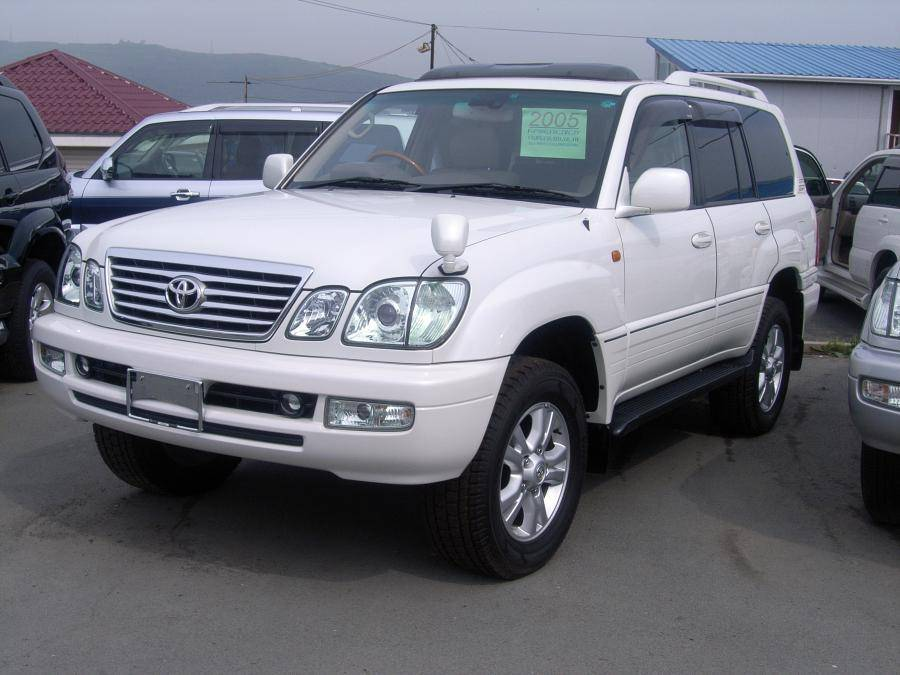 2005 toyota land cruiser cygnus pictures gasoline automatic for sale. Black Bedroom Furniture Sets. Home Design Ideas