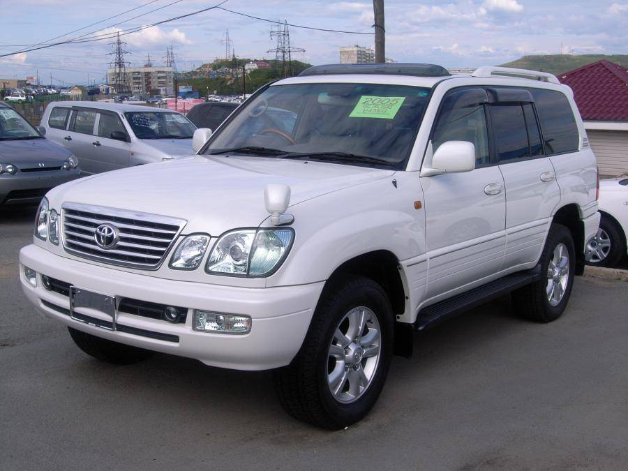 2005 toyota land cruiser cygnus photos 4 7 gasoline automatic for sale. Black Bedroom Furniture Sets. Home Design Ideas