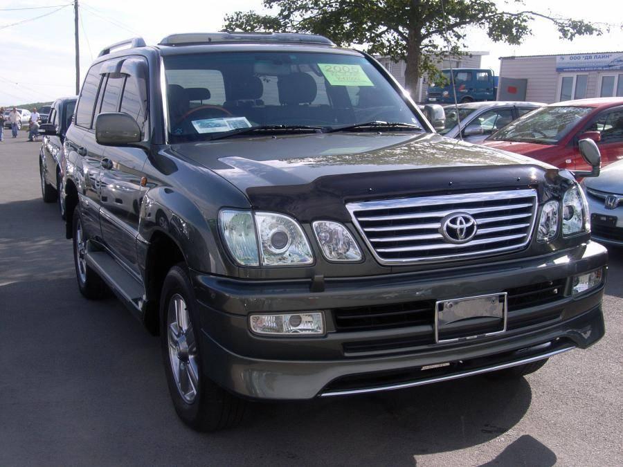 Toyota Land Cruiser 2005 Interior Toyota Land Cruiser Cygnus