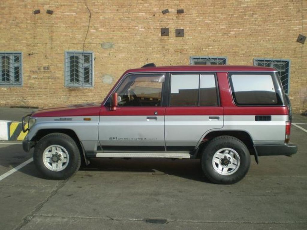1991 Toyota Land Cruiser Prado Pictures For Sale