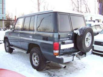 1991 LAND Cruiser Prado