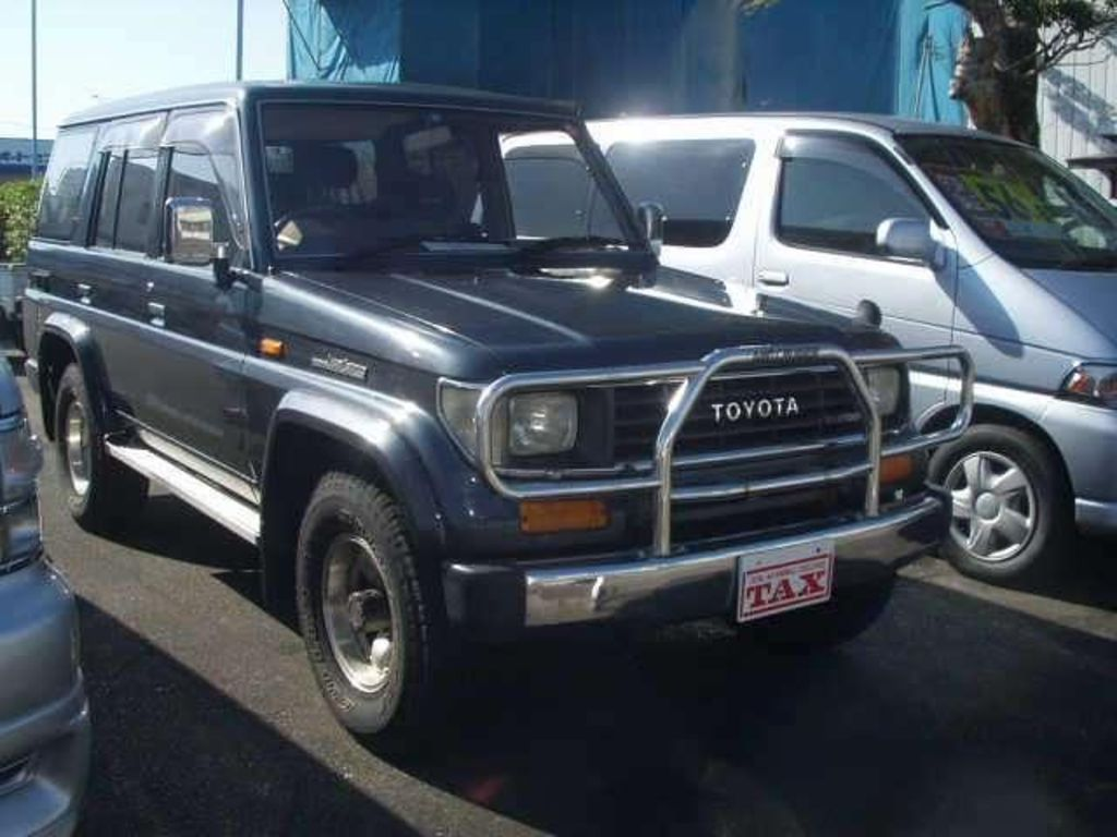 used toyota land cruiser prado 1992 toyota land cruiser prado pictures