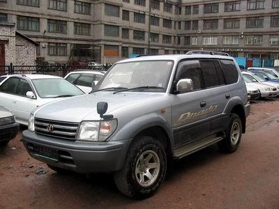 Toyota Land Cruiser Prado 1996 1996 Toyota Land Cruiser Prado