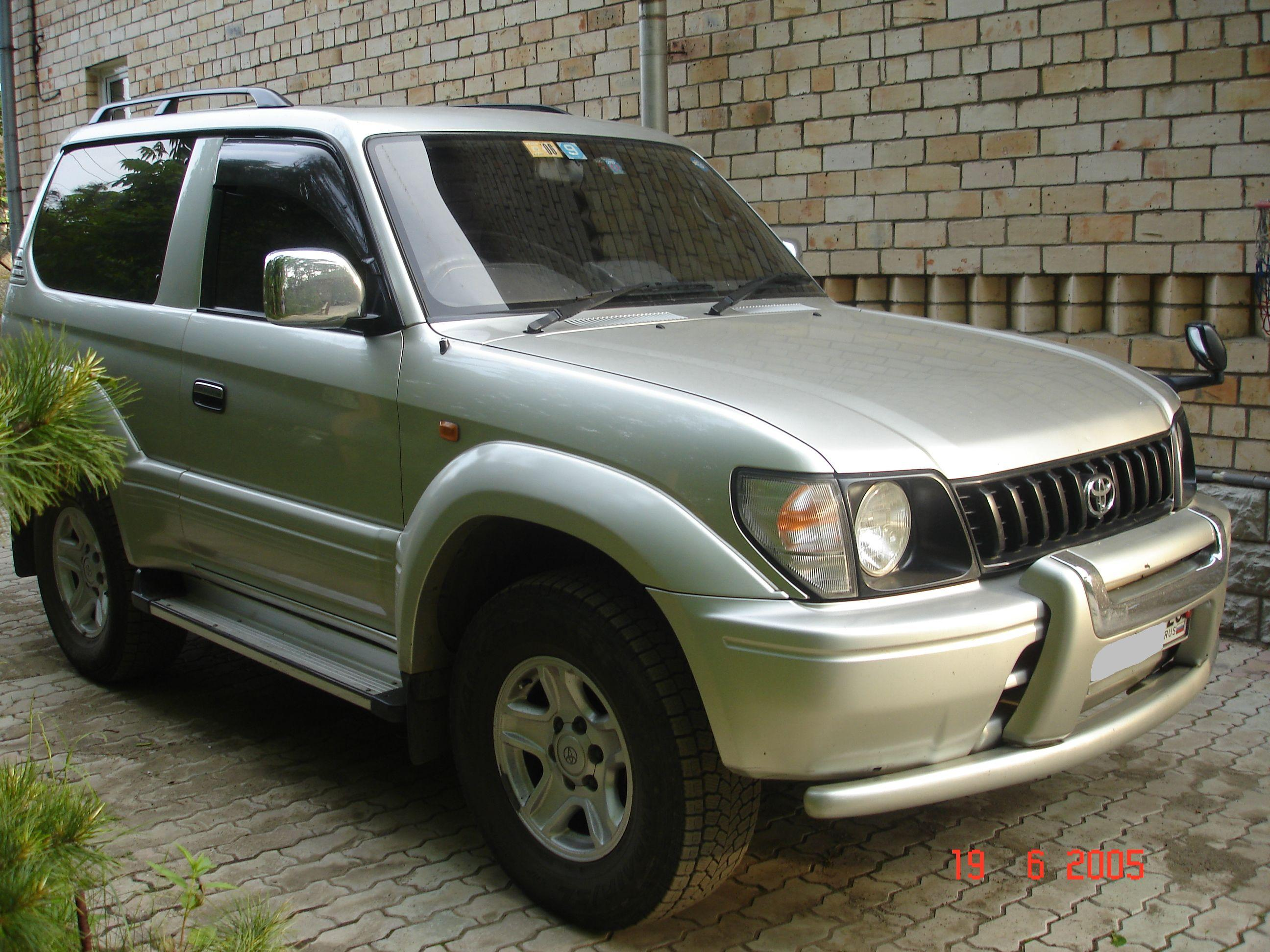Used TOYOTA LAND CRUISER PRADO 1998 for sale | Stock ...