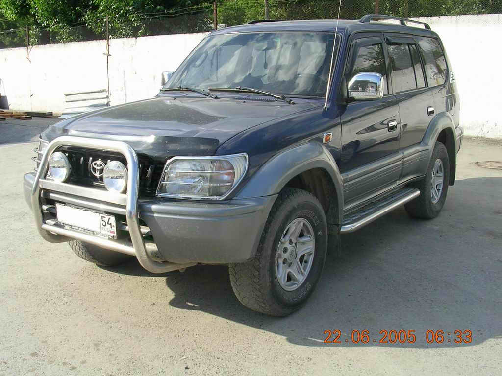 1998 toyota land cruiser prado photos 3 4 gasoline. Black Bedroom Furniture Sets. Home Design Ideas