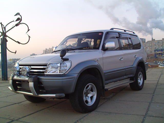 1998 Toyota Land Cruiser Prado Pictures