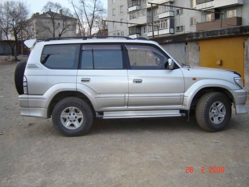 1998 toyota land cruiser prado pictures for sale. Black Bedroom Furniture Sets. Home Design Ideas