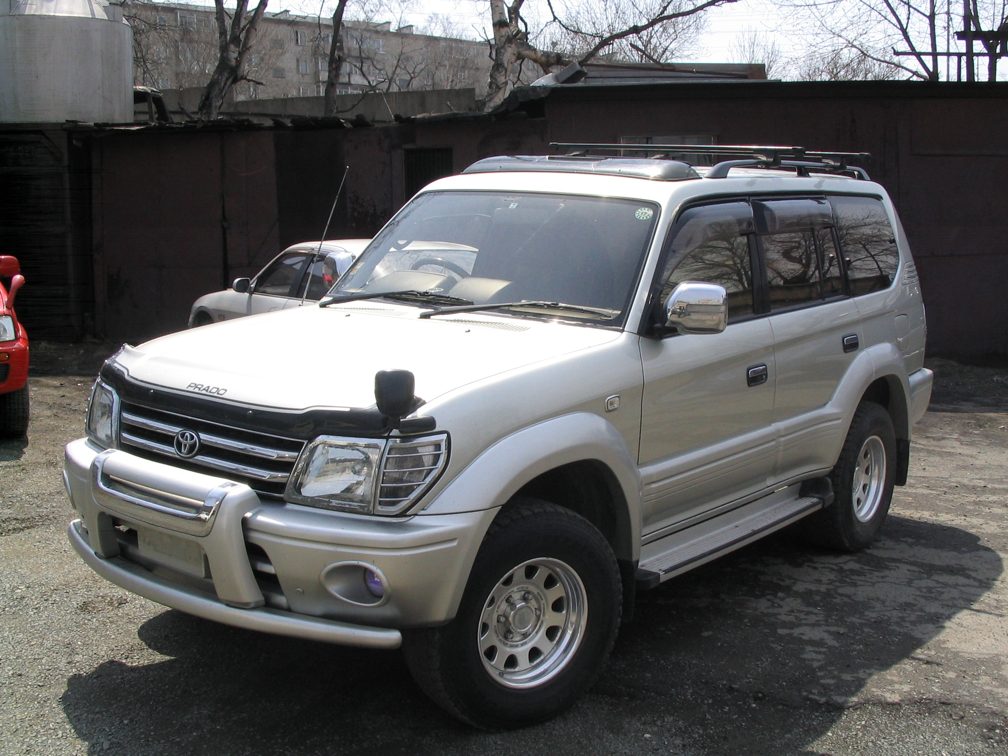 1999 Toyota LAND Cruiser Prado Pictures For Sale