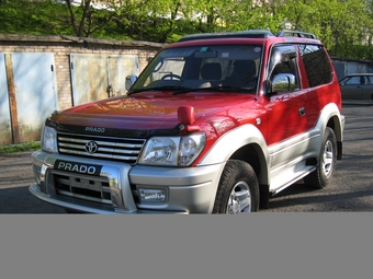 2000 Toyota LAND Cruiser Prado