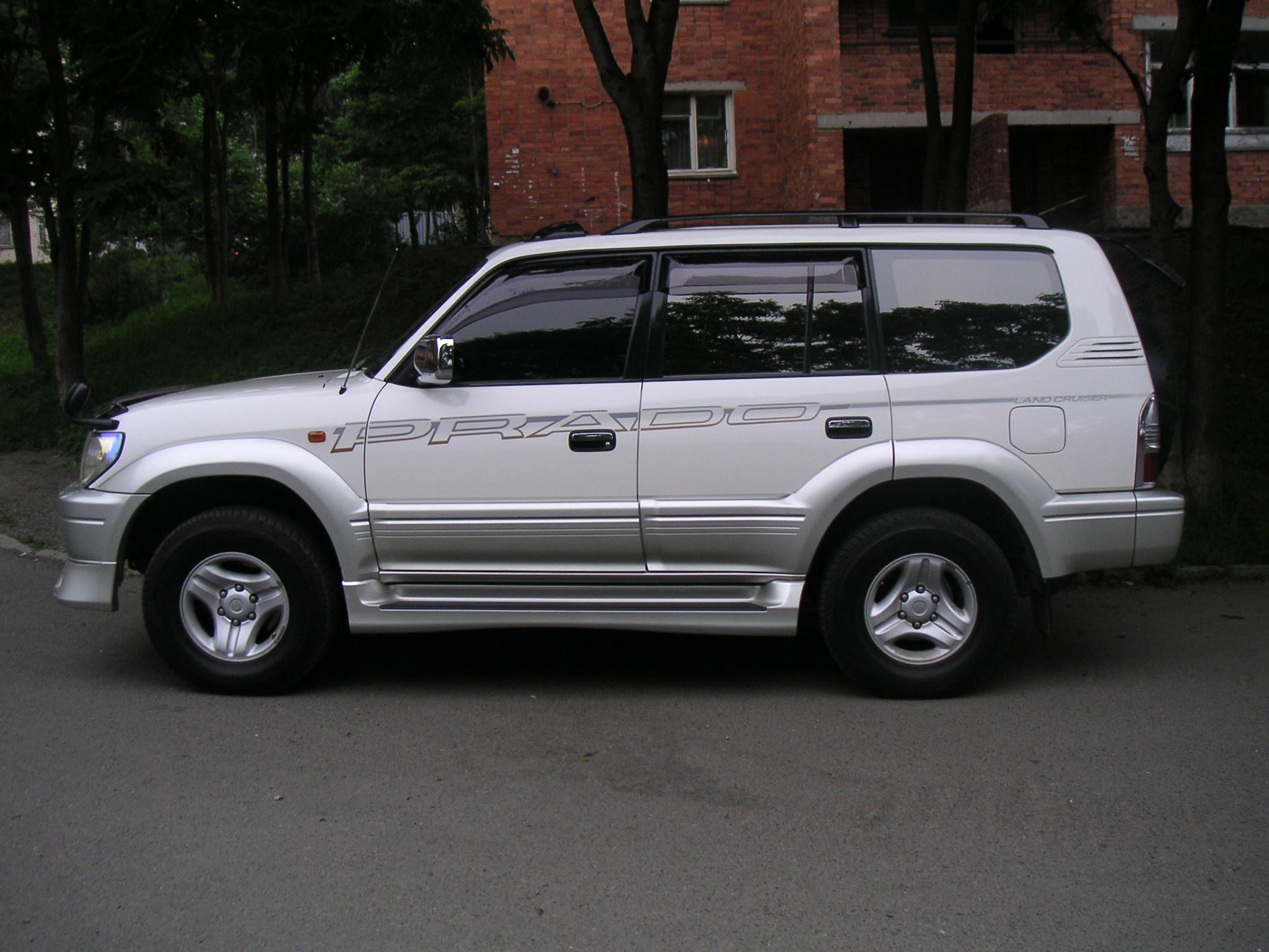 2000 toyota land cruiser prado pictures 3000cc diesel automatic for sale. Black Bedroom Furniture Sets. Home Design Ideas
