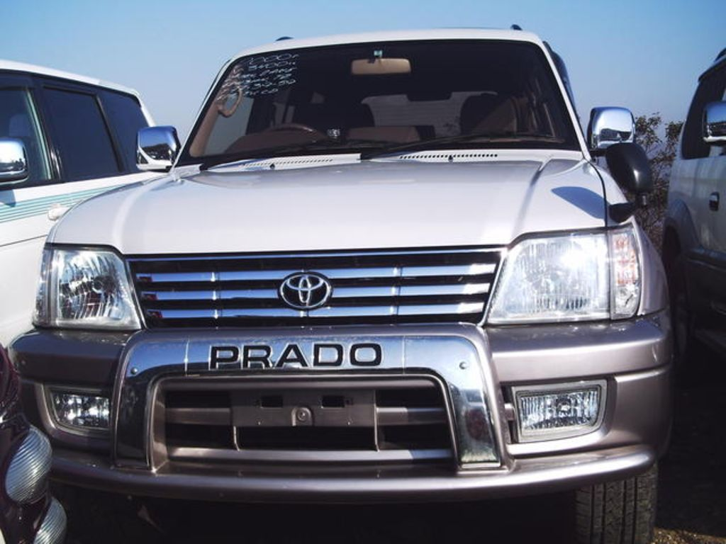2000 toyota land cruiser prado pictures