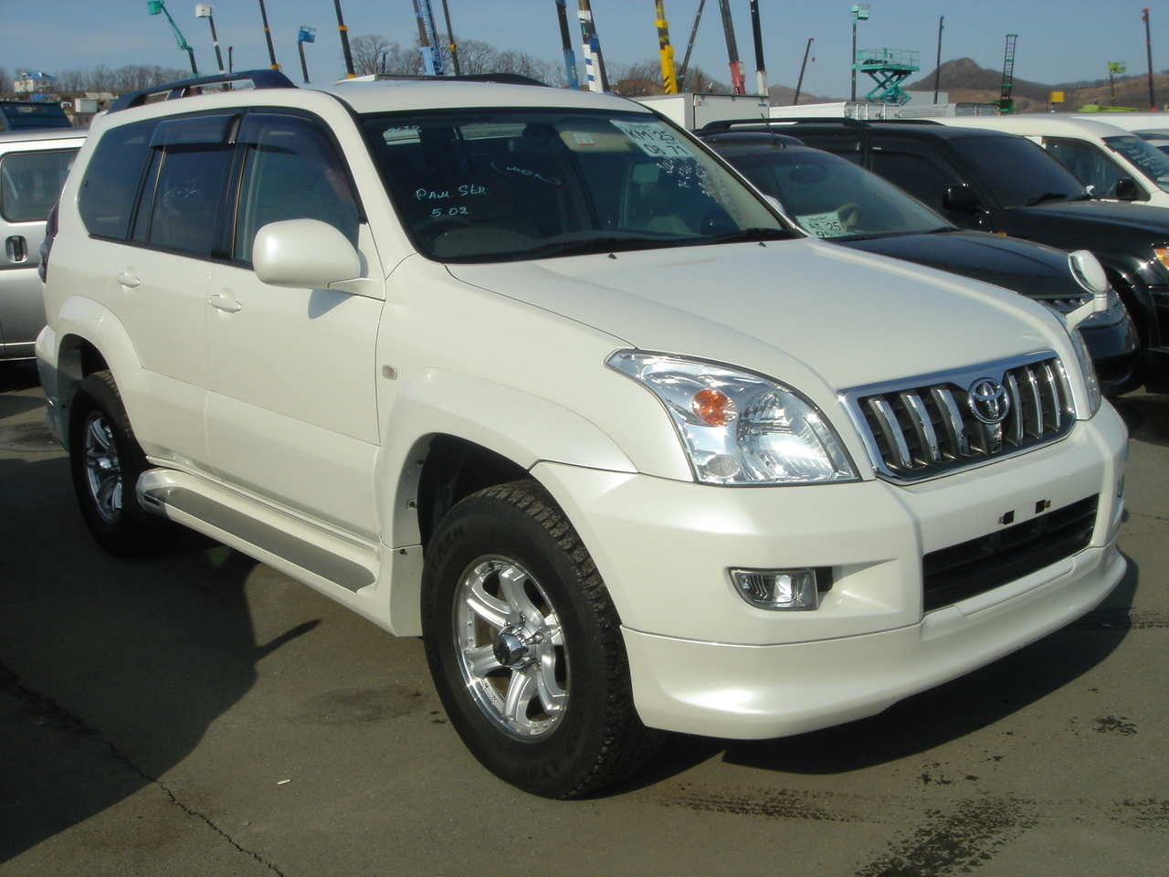 2004 toyota land cruiser prado pics 2 7 gasoline. Black Bedroom Furniture Sets. Home Design Ideas