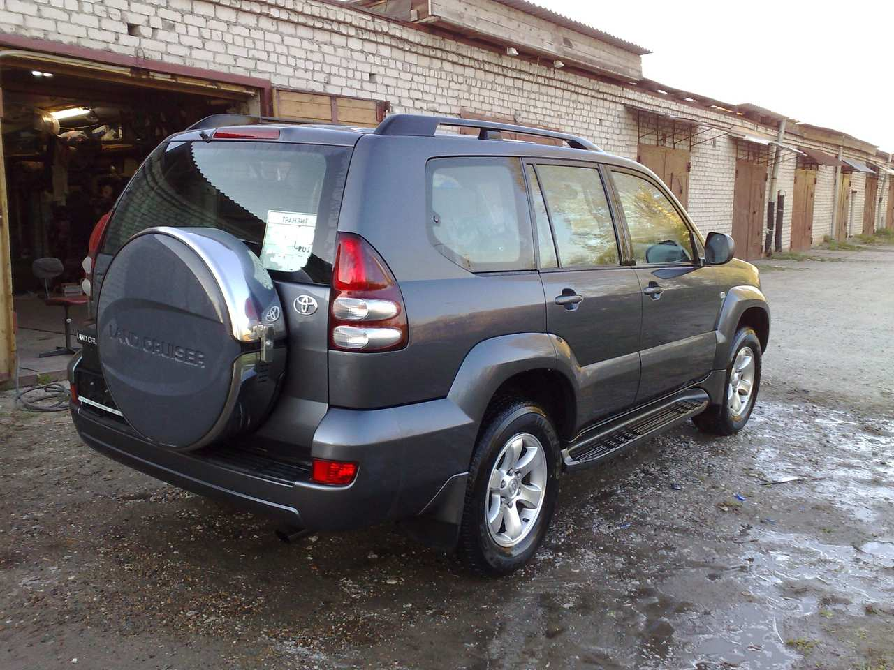 2004 toyota land cruiser prado for sale 4 0 gasoline. Black Bedroom Furniture Sets. Home Design Ideas