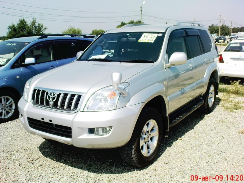 2004 toyota land cruiser prado pictures 3000cc diesel. Black Bedroom Furniture Sets. Home Design Ideas
