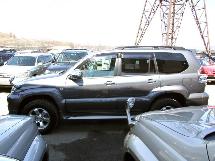 2005 toyota land cruiser prado wallpapers gasoline automatic for sale. Black Bedroom Furniture Sets. Home Design Ideas