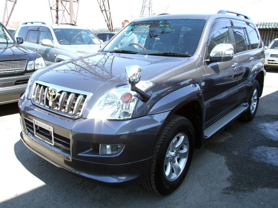 2005 toyota land cruiser prado pictures 4000cc gasoline automatic for sale. Black Bedroom Furniture Sets. Home Design Ideas