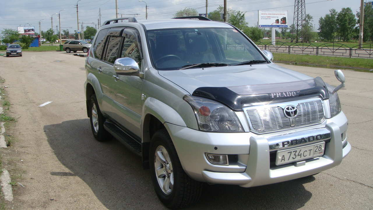 used 2005 toyota land cruiser prado photos 2700cc gasoline automatic for sale. Black Bedroom Furniture Sets. Home Design Ideas