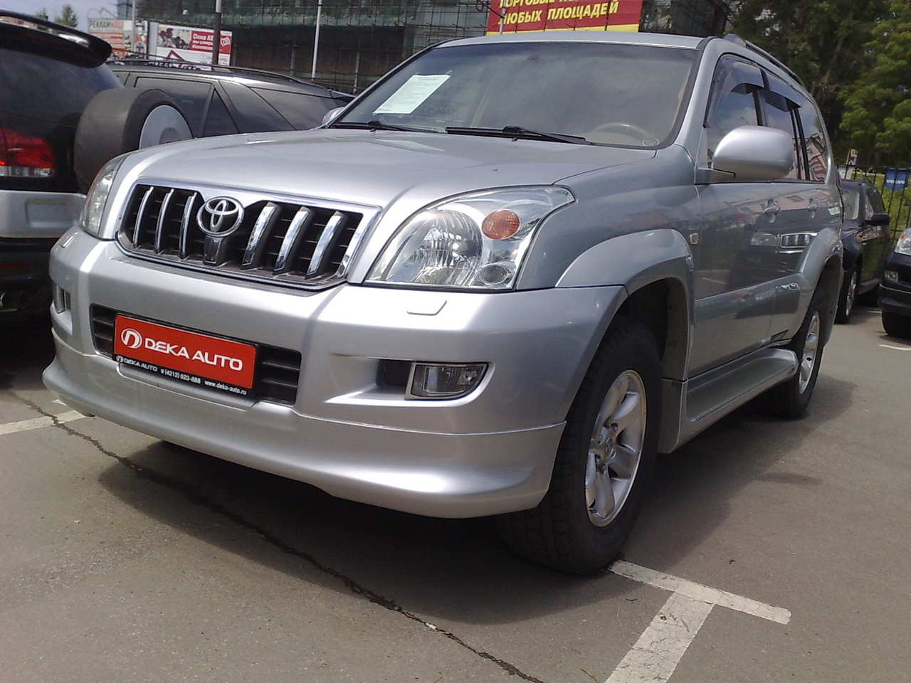 2005 toyota land cruiser prado pictures gasoline automatic for sale. Black Bedroom Furniture Sets. Home Design Ideas