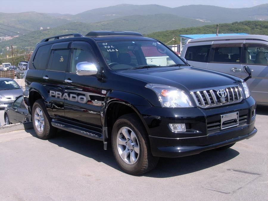 2007 Toyota Land Cruiser Prado For Sale 2 7 Gasoline
