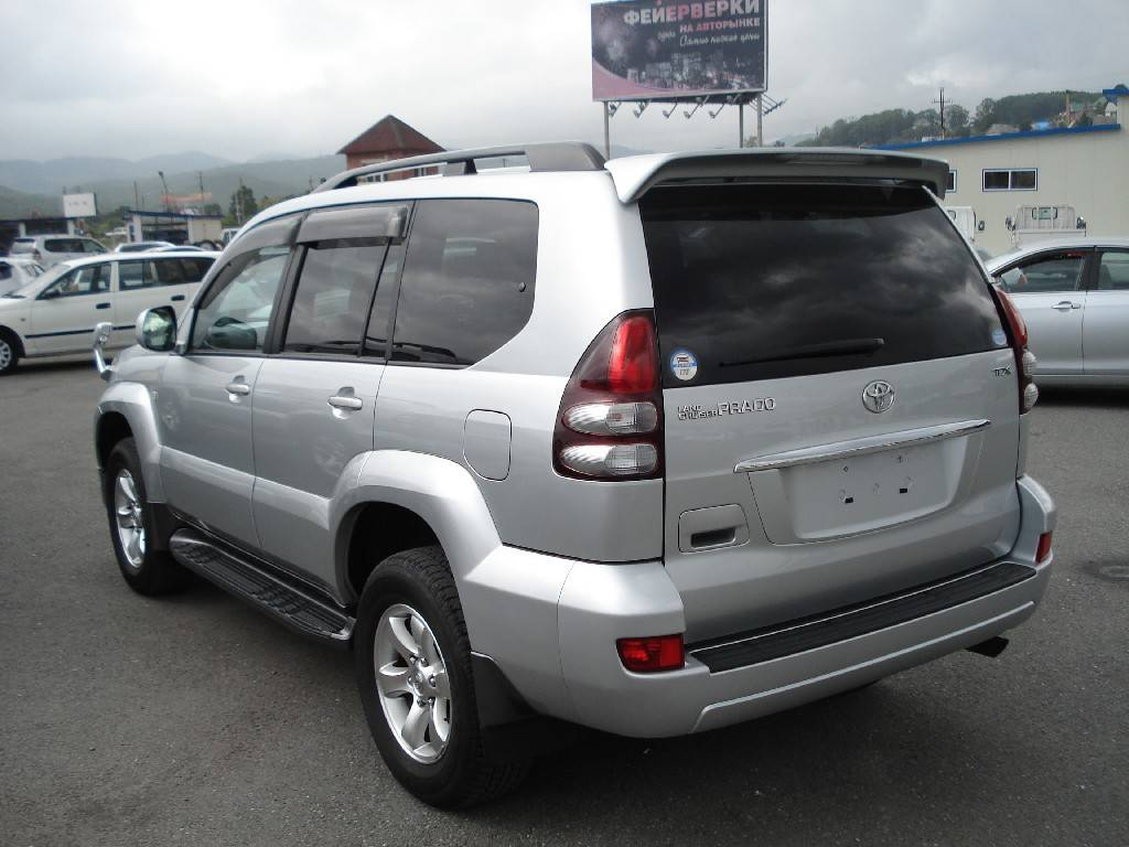 2007 Toyota Land Cruiser Prado Pictures 2 7l Gasoline
