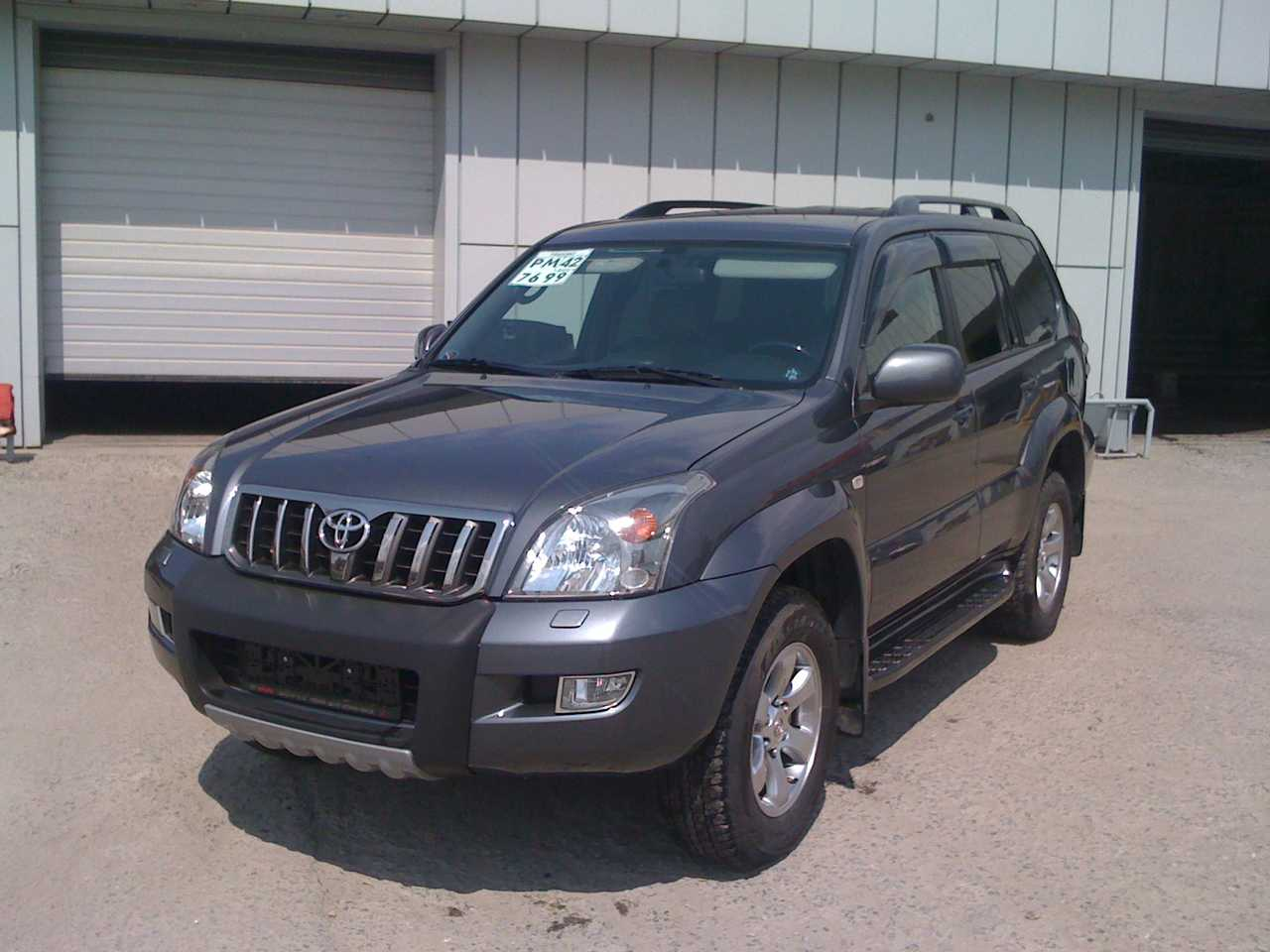 2008 Toyota Land Cruiser Prado Photos 4 0 Gasoline
