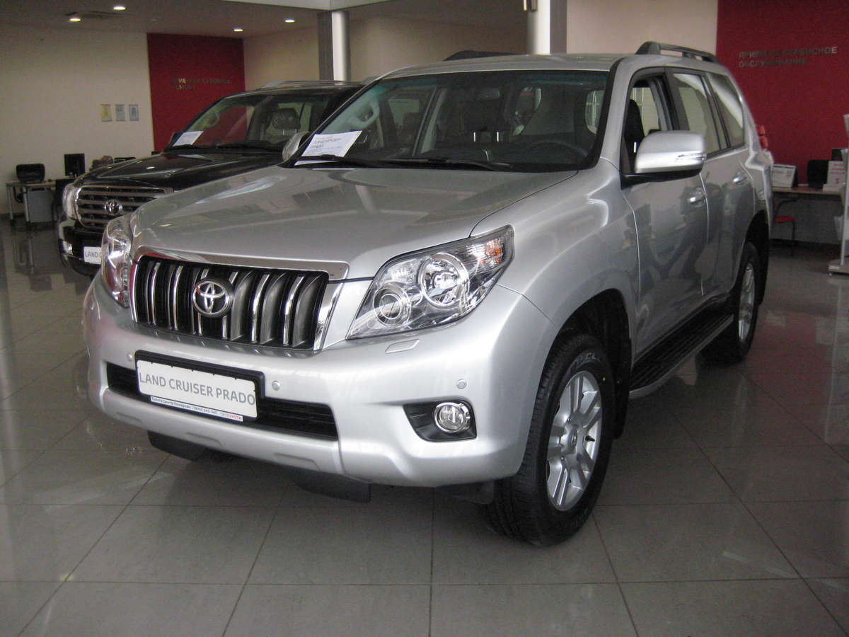 2011 toyota land cruiser prado pictures  4 0l   gasoline