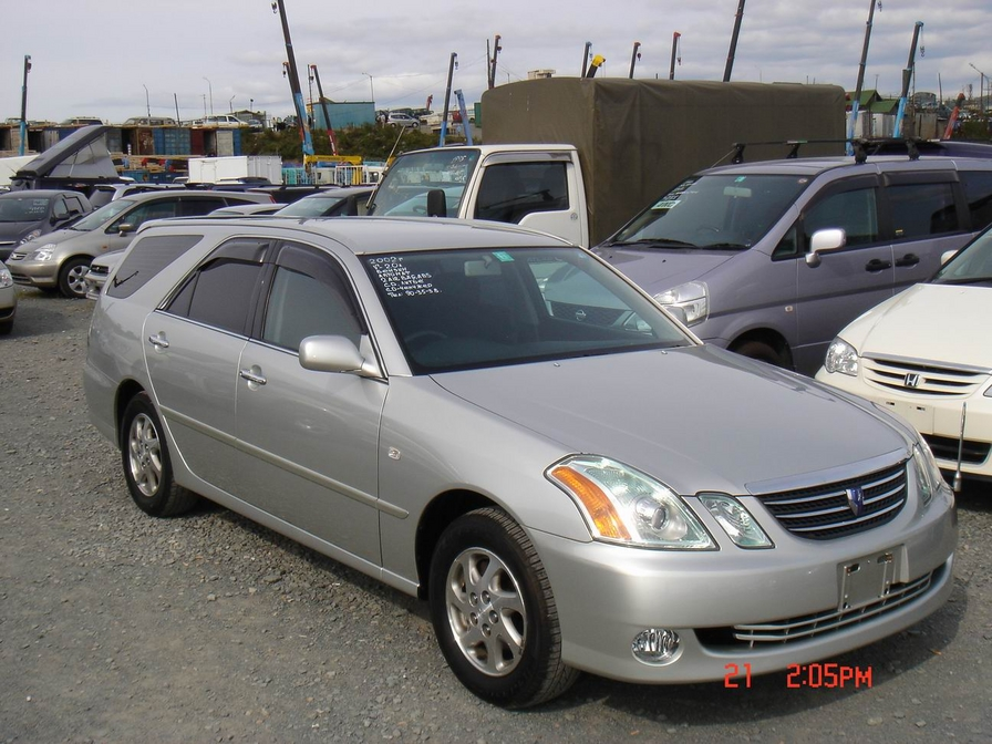 2002 Toyota Mark II Wagon Blit Pictures