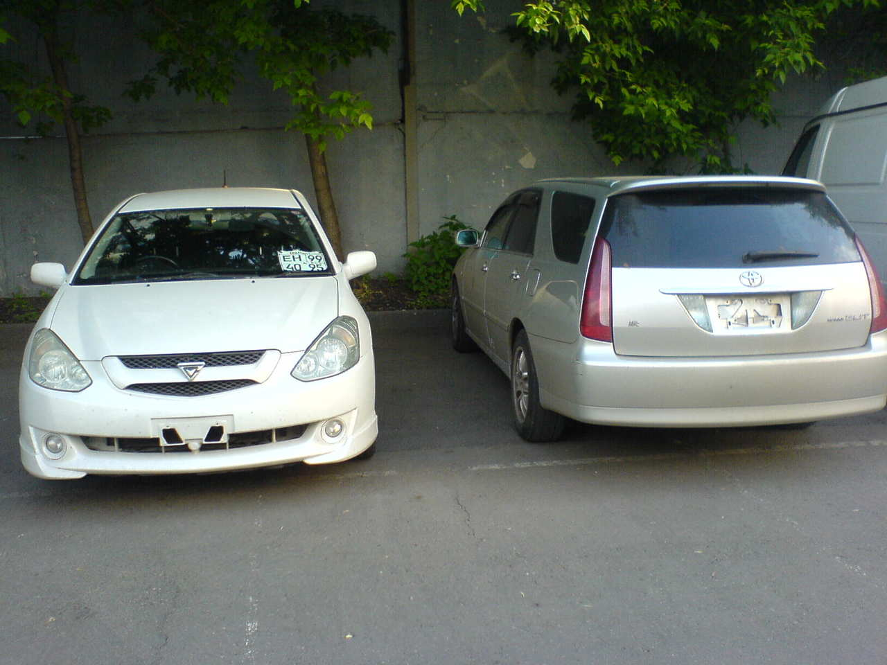2002 Toyota Mark Ii Wagon Blit Pictures 2000cc Gasoline