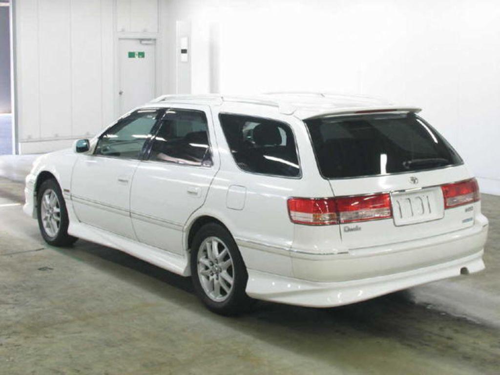 2000 Toyota Mark Ii Wagon Qualis Pictures 2200cc