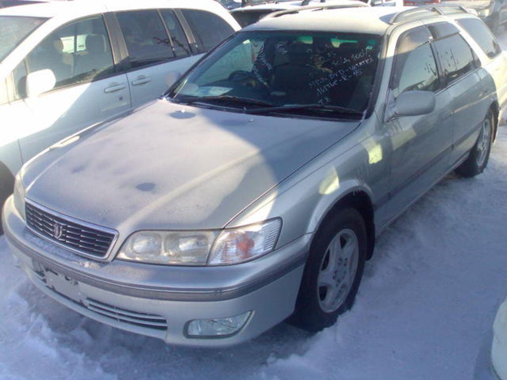 2001 Toyota Mark Ii Wagon Qualis Pictures