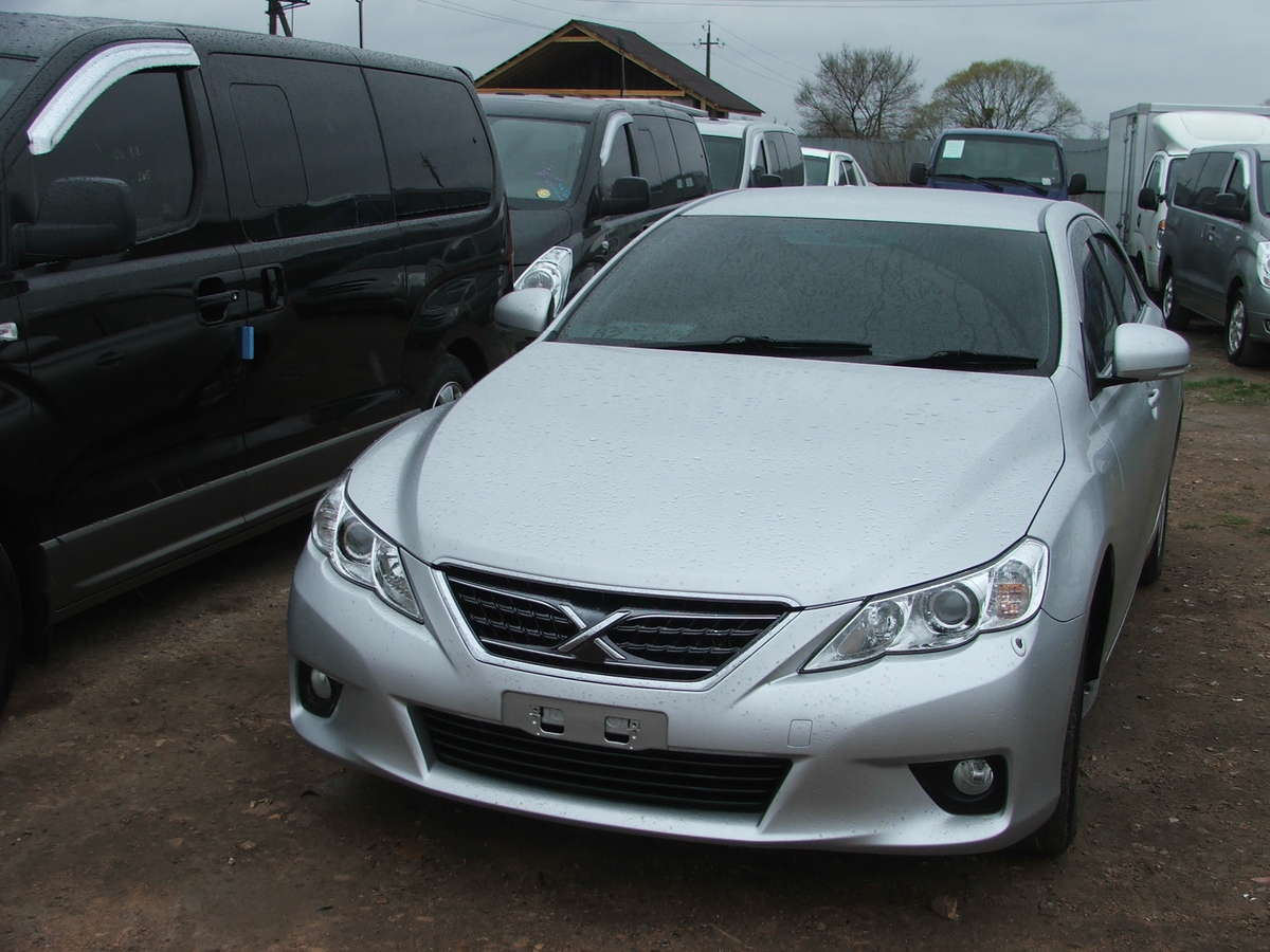 2010 toyota mark x pictures gasoline automatic for sale. Black Bedroom Furniture Sets. Home Design Ideas