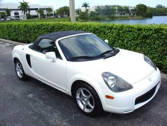 2000 toyota mr-s for sale, 1800cc., gasoline, fr or rr, manual for