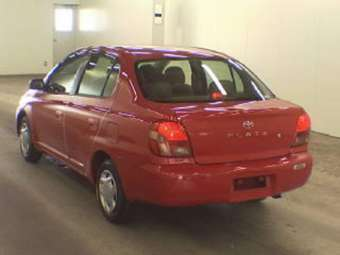 2002 Toyota Platz Photos