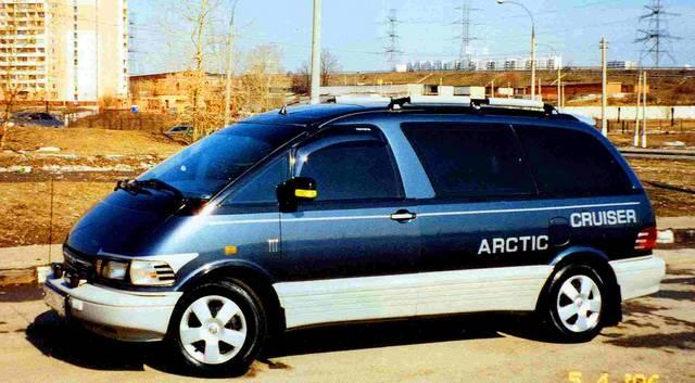 1993 Toyota Previa Specs
