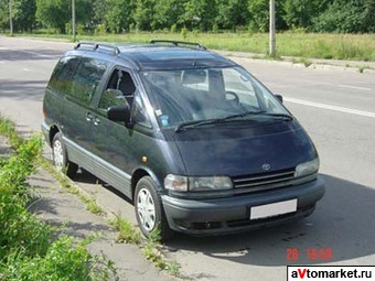 1997 Toyota Previa Wallpapers