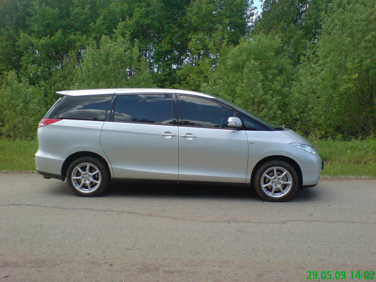 2008 Toyota Previa Pictures 2 4l Gasoline Ff
