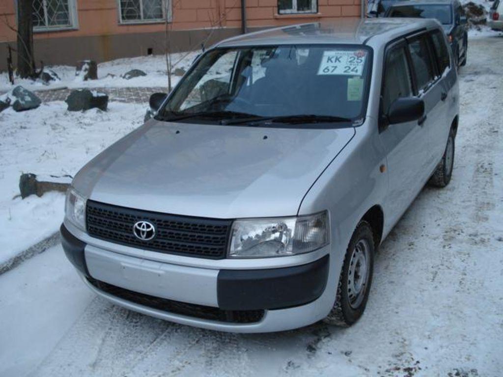 Used 2004 Toyota Probox Pictures