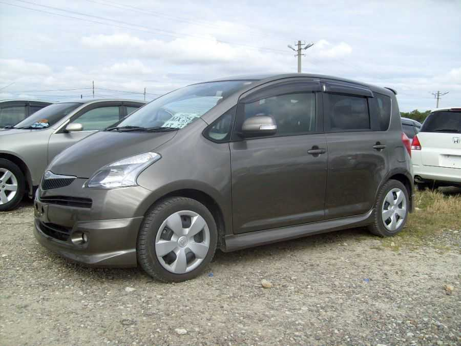 2007 Toyota Ractis Pics, 1.5, Gasoline, FF, Automatic For Sale