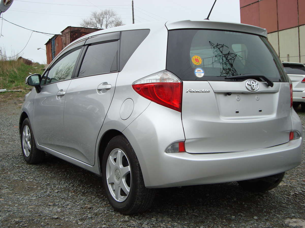 2011 Toyota Ractis For Sale, 1500cc., Gasoline, FF ...