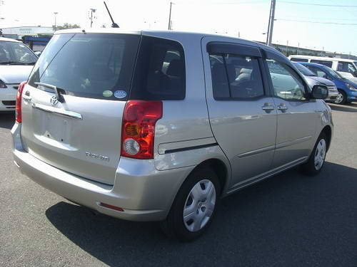 2006 Toyota RAUM Pictures, 1.5l., Gasoline, FF, Automatic For Sale