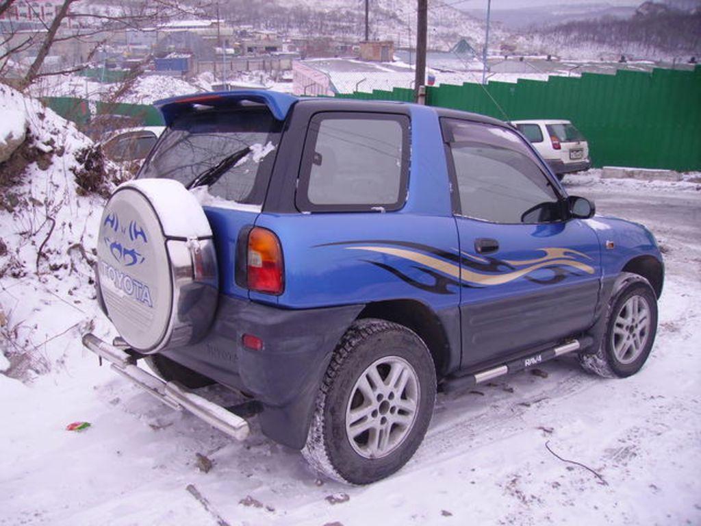 1994 Toyota Rav4 Pictures 2000cc Gasoline Automatic