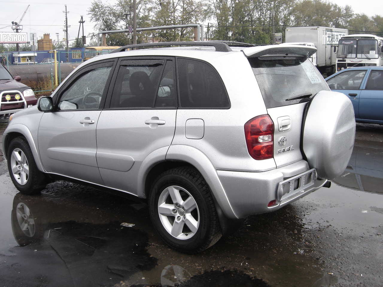 2004 Toyota Rav4 Pictures  2 4l   Gasoline  Automatic For Sale