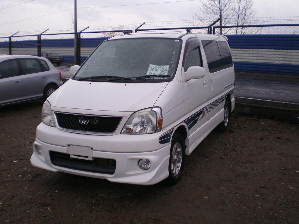 Toyota Regius information