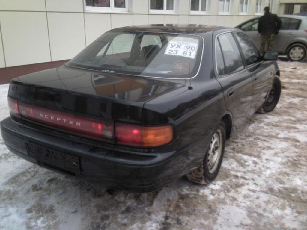 1992 Toyota Scepter Photos - Car Pictures Gallery