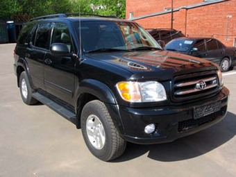 2001 toyota sequoia pictures. Black Bedroom Furniture Sets. Home Design Ideas
