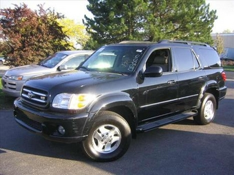 2002 toyota sequoia pictures. Black Bedroom Furniture Sets. Home Design Ideas