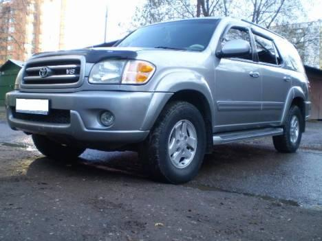 2002 toyota sequoia pics 4 7 fr or rr automatic for sale. Black Bedroom Furniture Sets. Home Design Ideas