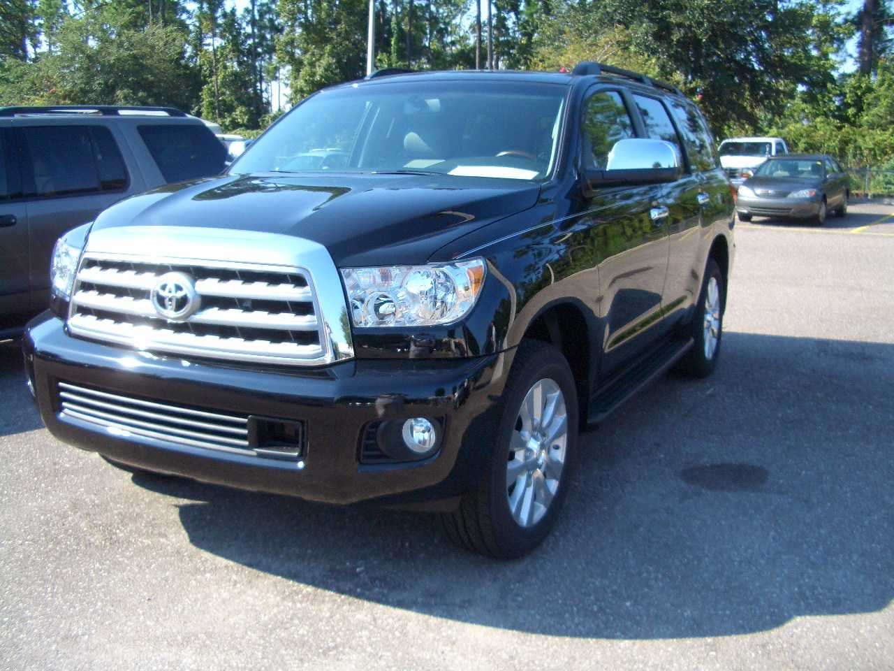 2009 toyota sequoia pictures 5700cc gasoline automatic for sale. Black Bedroom Furniture Sets. Home Design Ideas